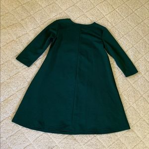 ASOS Dresses - ASOS Women's Emerald Green 3/4 Sleeve Dress